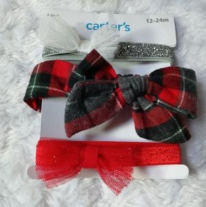 HEADWRAPS,3- PACK, CARTER,S. 12-24M